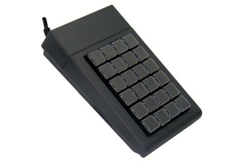 24-Tasten Matrix Keyboard Industry 4.0 PS/2 Black