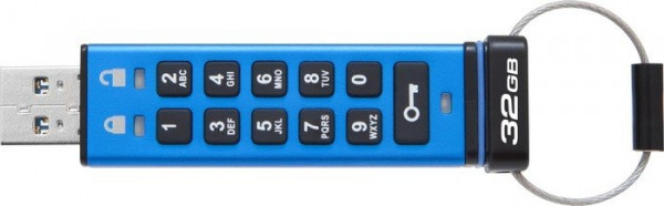 USB Flash 32 GB Kingston DT2000 USB Stick 3.1 mit Verschlüsselung inkl.UHG