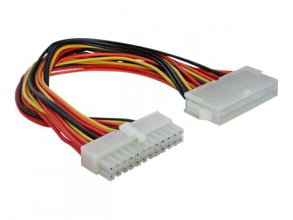Geh PSU ATX-Kabelverlängerung 24-pol. 22cm Delock
