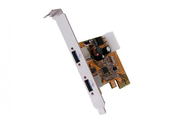 USB PCIe Karte 2 Port USB 3.0 Exsys PCIe x1