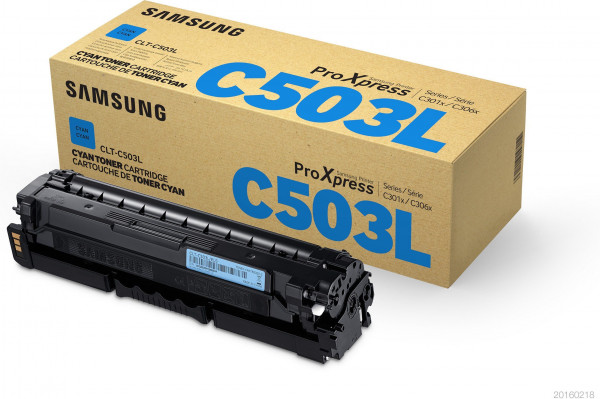 Samsung CLT-C503L/ELS Toner cyan 5.000 Seiten