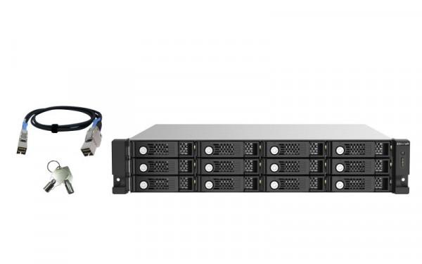 QNAP TL-R1220Sep-RP - Speichererweiterungsgehäuse HDD / SSD