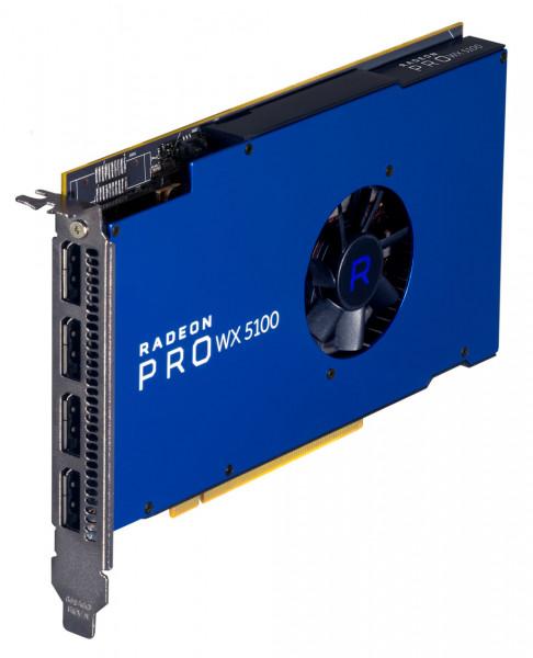 Grafikkarte AMD RADEON PRO WX5100 8GB PCIe 3.0