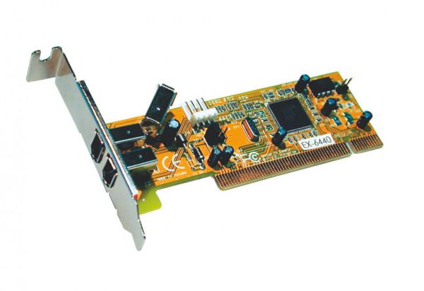 FireWire IEEE 1394a PCI Karte 2+1 EX-6440 LowProfile