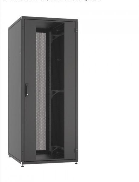 EFB Serverschrank-PRO 27HE H1297 x B600 xT1000, RAL 9005