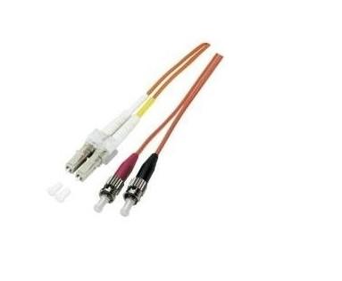 LWL Patchkabel 3m LED Duplex Jumper LC-SC 50/125µ DC LED OM3