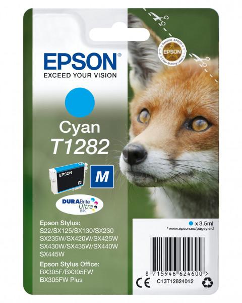 Epson T1282 Tinte Cyan