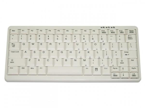 Tastatur Gett TKL-083-KGEH-GREY-PS/2-US
