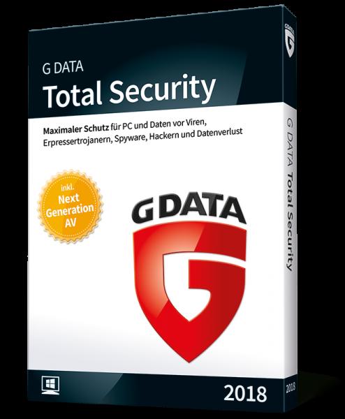 G DATA TotalSecurity - 5PCs - ESD - ( 1 Jahr )