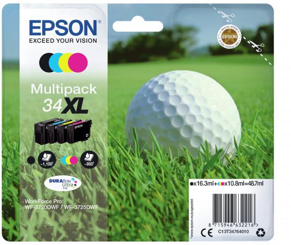Epson 34XL Multipack 4er-Tinte (BK/C/M/Y)