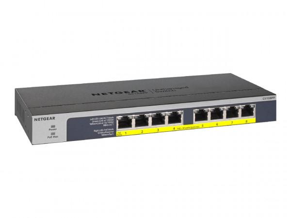 NETGEAR GS108PP - Switch