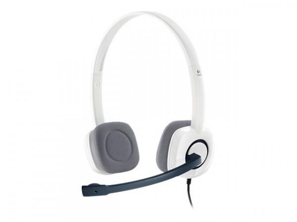 Logitech Klinke H150 Stereo white