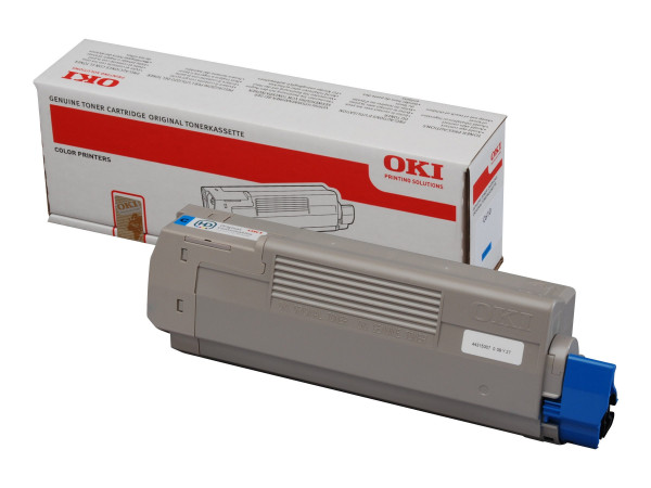 OKI Toner Cyan für C610 Serie