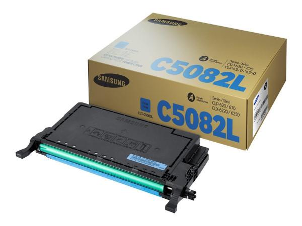 Samsung CLT-C5082L Toner cyan 4.000 Seiten